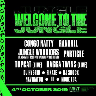 Welcome to the Jungle 2019! Congo Natty / Randall +More!