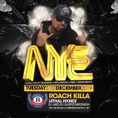 New years Eve 2019 -Roachkilla live at Bierkeller