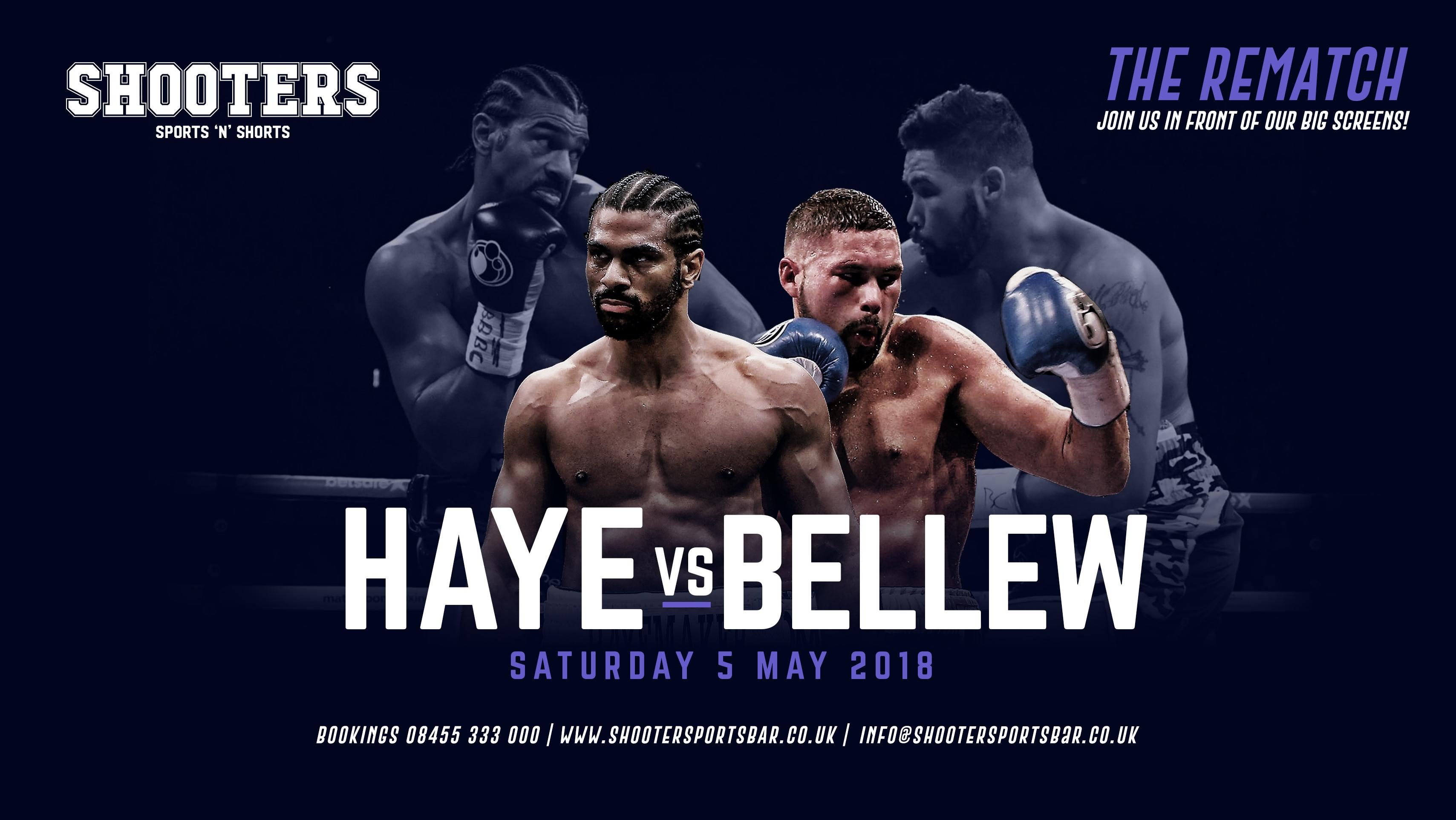 Image result for Bellew vs. Haye pic logo