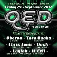 QED's 21st Birthday Party