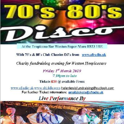 70s & 80s Club Classics Charity Disco