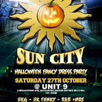 Sun City UK Garage Fancy Dress Special