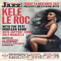 An evening of soulful Music with Kele le Roc