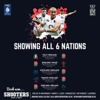 Six Nations 2018 - Showing live here!