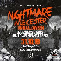 Nightmare in Leicester on Halloween - 5000+ Zombies