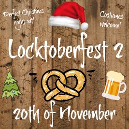 Locktoberfest Christmas party