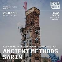 Meat Free w/Ancient Methods + SARIN (BYOB)