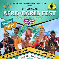 AFRO-CARIB FEST ONLINE 2020 -  Saturday August 22, 2020