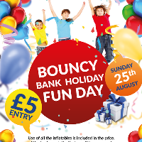 Inflatable Bank Holiday Fun Day