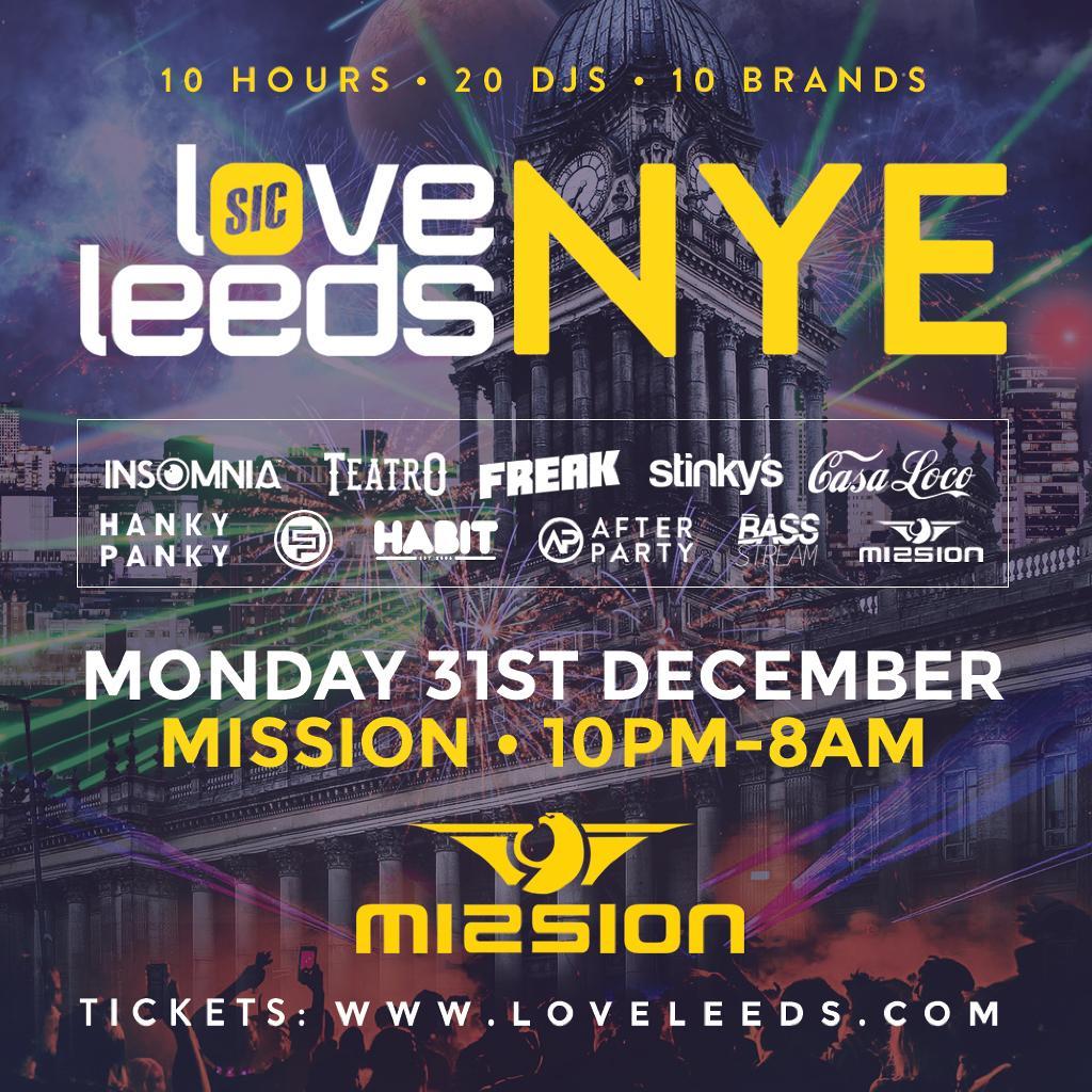 Love Leeds NYE