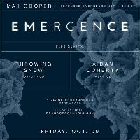 Soundcrash presents Max Cooper – Emergence A/V show Live + DJ set