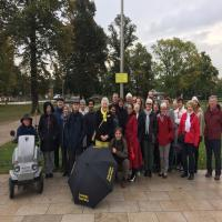 Friday guided walking tour in Stratford