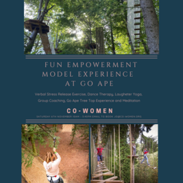 Fun Empowerment Model Experience Day at Go Ape