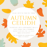 GUAC Autumn Ceilidh