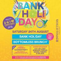 Summer Bank Holiday Bottomless Brunch