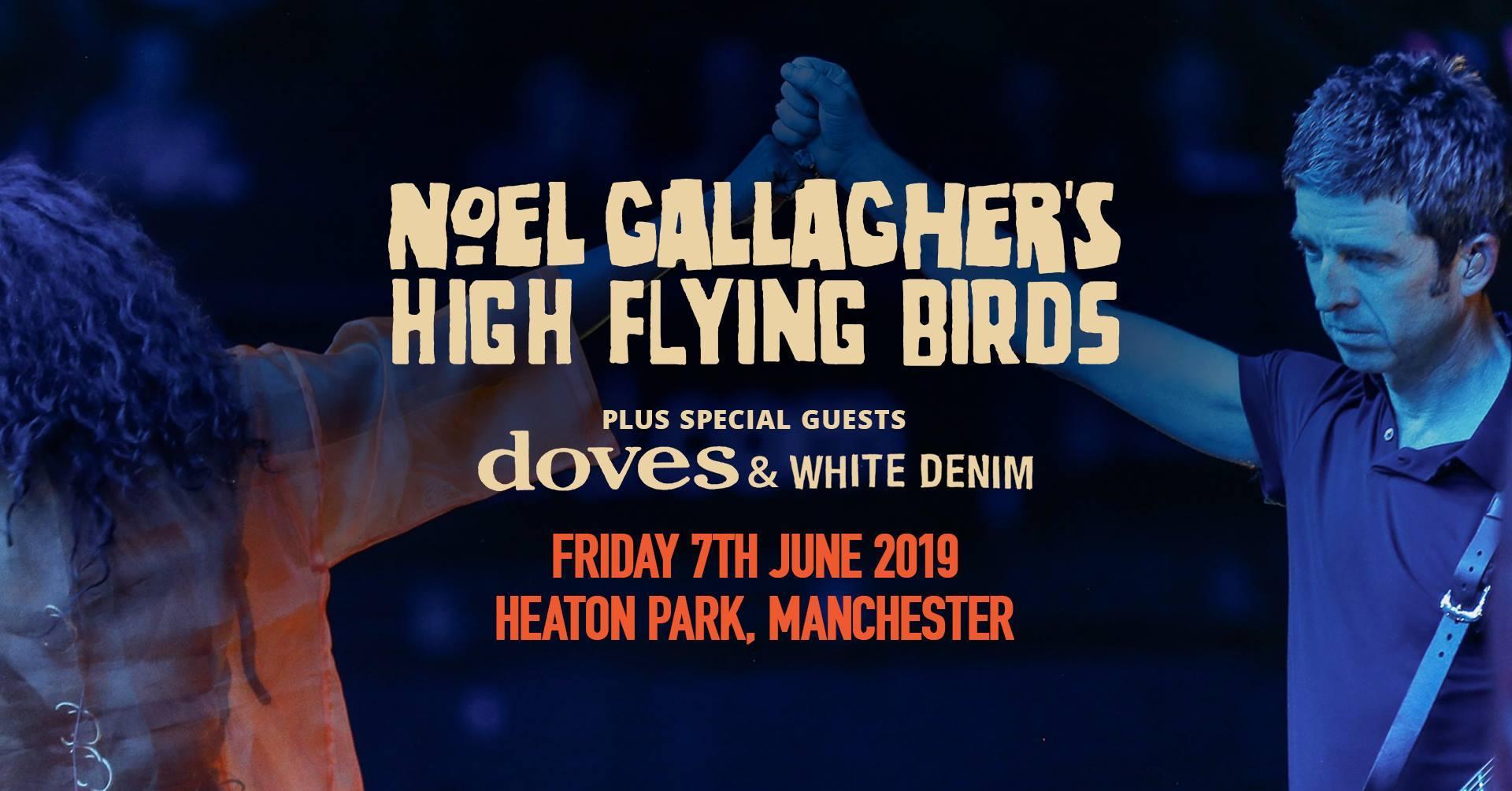 Noel Gallaghers High Flying Birds Tickets Heaton Park Manchester