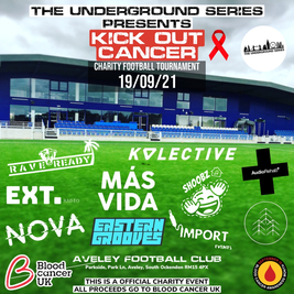 The Underground Series Presents Kick Out Cancer