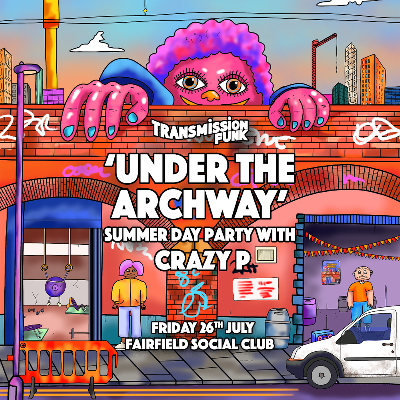 UNDER THE ARCHWAY - Summer Day Party with CRAZY P