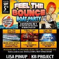 FEEL THE BOUNCE - Boat Party, Pre-Party & Main Event