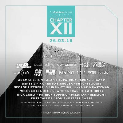 The Rainbow Venues Festival - Chapter XII