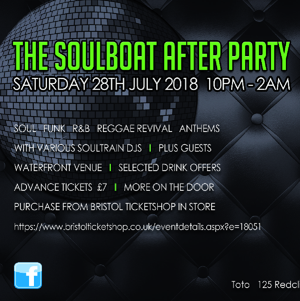 A Summer Groove / The Soulboat After Party 2018 Tickets | Toto\'s ...
