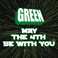 green may the 4th be with you