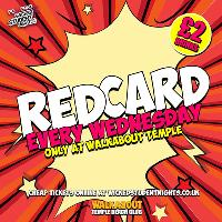 RED CARD at Walkabout