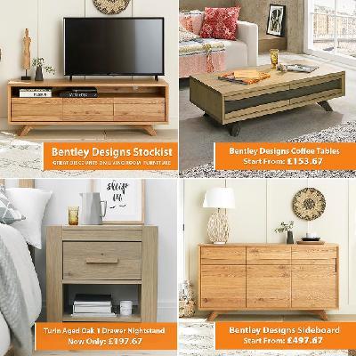 Furniture Sale, Bentley Designs Furniture Sale, Living Furniture, Bentley Designs Living Furniture, Bedroom Furniture, Black Friday Sale