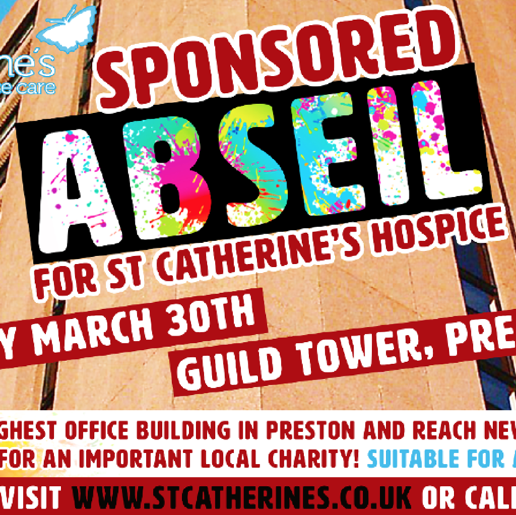 St Catherine's Sponsored Abseil
