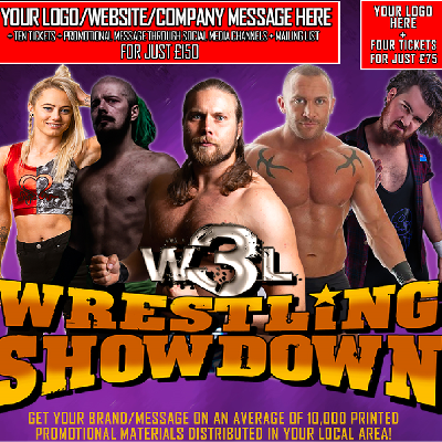 W3L Wrestling Showdown - Buckhaven Community Centre