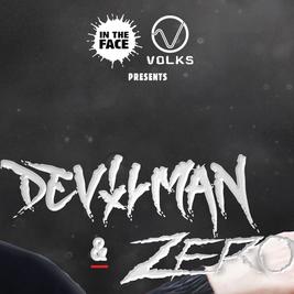 In the face x Volks with Zero & Devilman