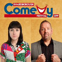 Maisie Adam and Alfie Moore .. Knaresborough Comedy Festival
