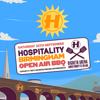 Hospitality Birmingham Open Air BBQ (Come Together 2021)