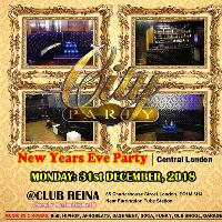 Club Reina. New Years Eve Party. Central London. £10