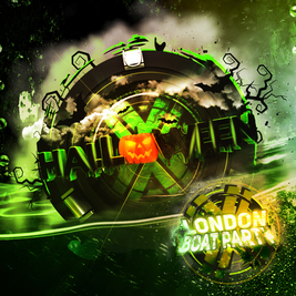 London Halloween Boat Party with FREE After Party!