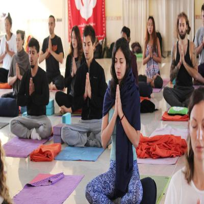 200 hour yoga teacher training in Rishikesh, India registered with Yoga Alliance, USA, based on Hatha Yoga