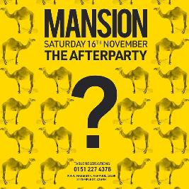 The Afterparty Tickets | Mansion Liverpool  | Sat 16th November 2019 Lineup