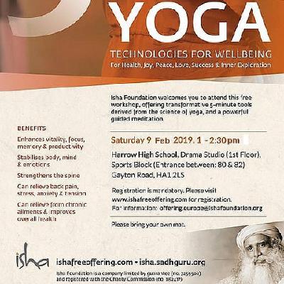 Upa Yoga - Free session at Harrow