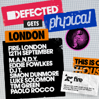 Defected Gets Physical Tour - London