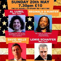 Nunhead American Comedy Nights with Lewis Schaffer