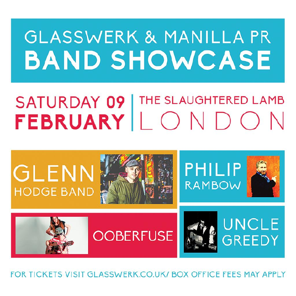 Glasswerk x Manilla PR Glenn Hodge Banned, Philip Rambow & More