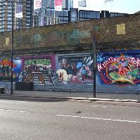 Shoreditch Art Wall Hackney Charities Collaboration