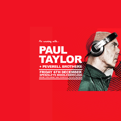 Spensleys Present An Evening With Paul Taylor