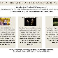 Three in the Attic at The Railway Winchester