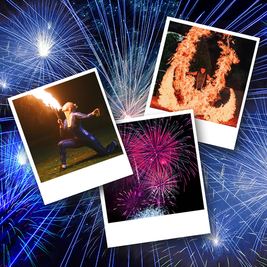 Clavering Fireworks Show Spectacular 2021