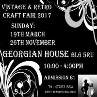 Vintage and Retro Craft Fair