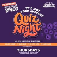 Not Your Average Quiz Night