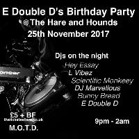 E Double D Birthday Party