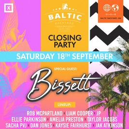 BISSETT // Baltic Backyard Closing Party // 18th September