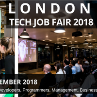 London Tech Job Fair Autumn 2018